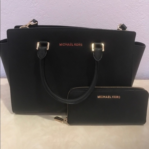 michael kors handbags with matching wallet